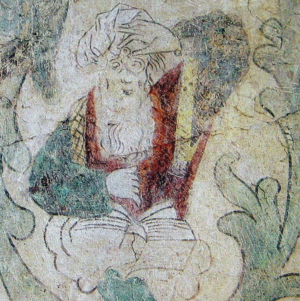 Abraham med briller og bog (Torshälla)