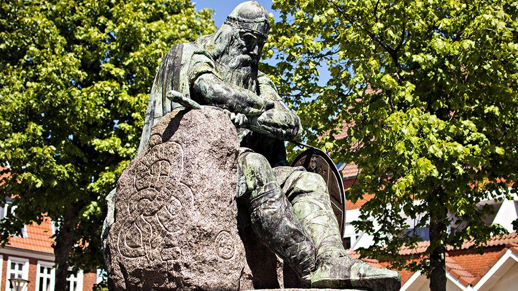 Holger Danske, en sagnkonge.