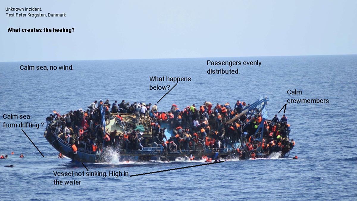 Redningsbåd på Middelhavet